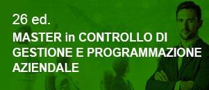 Master Controllo Gestione e Programmazione Aziendale