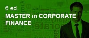 Master Corporate Finance